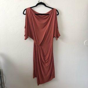 AllSaints Sina Asymmetric Dress S